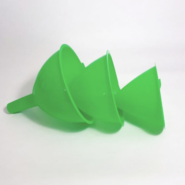 green funnel set of 3