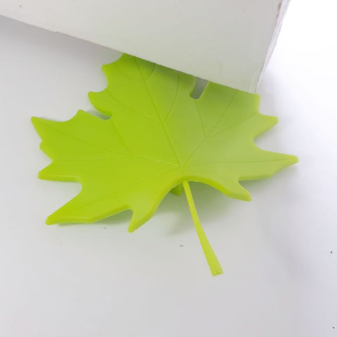 green leaf - door stopper