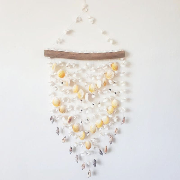 natural shell windchime - large