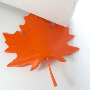 orange leaf - door stopper