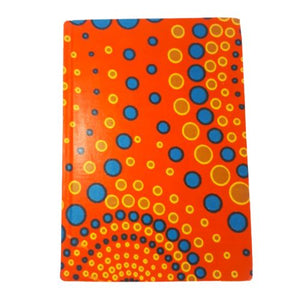 orange spirals journal