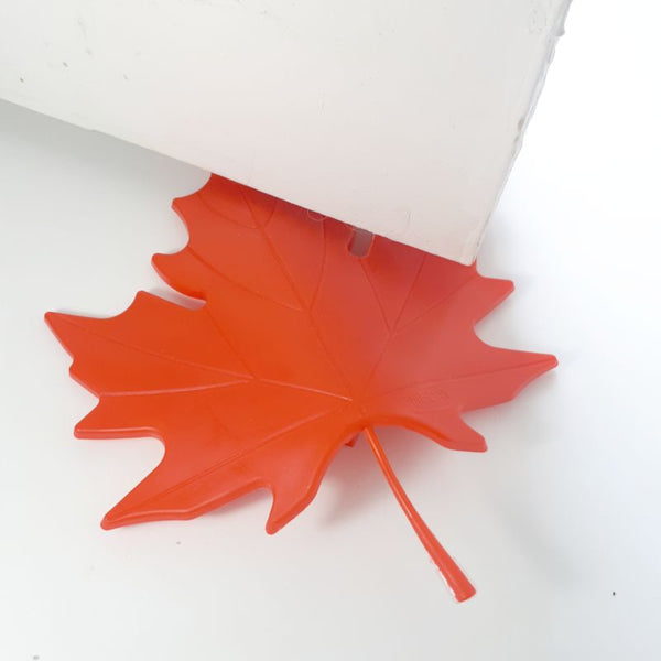 red leaf - door stopper