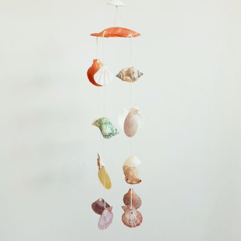 shell wind chimes - inspire