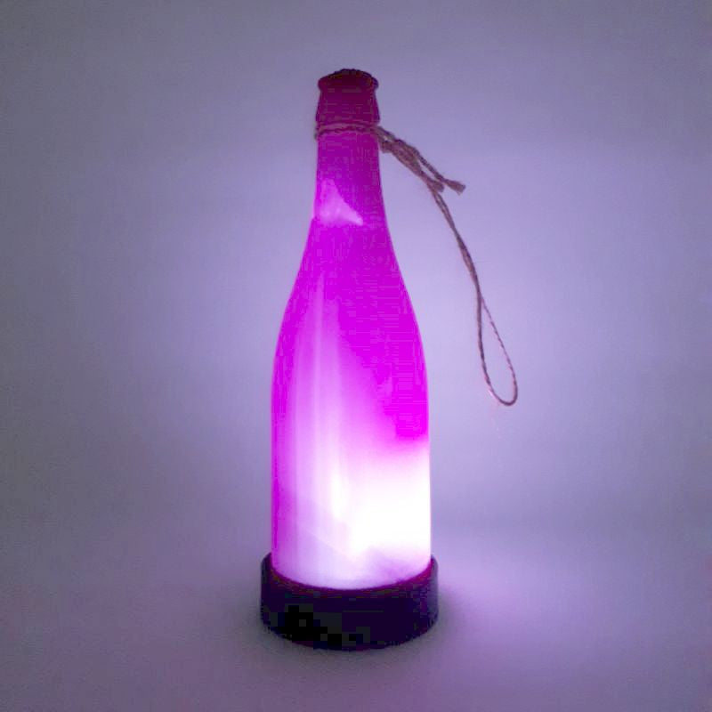 hot pink solar bottle