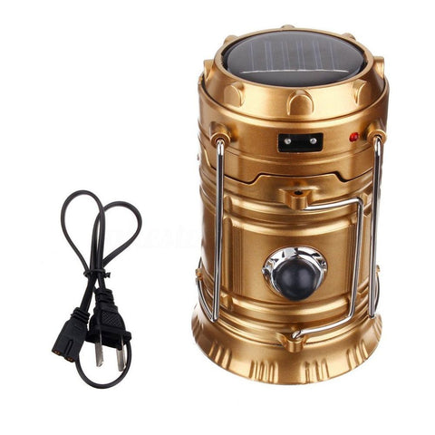 solar camping lantern and torch tent light