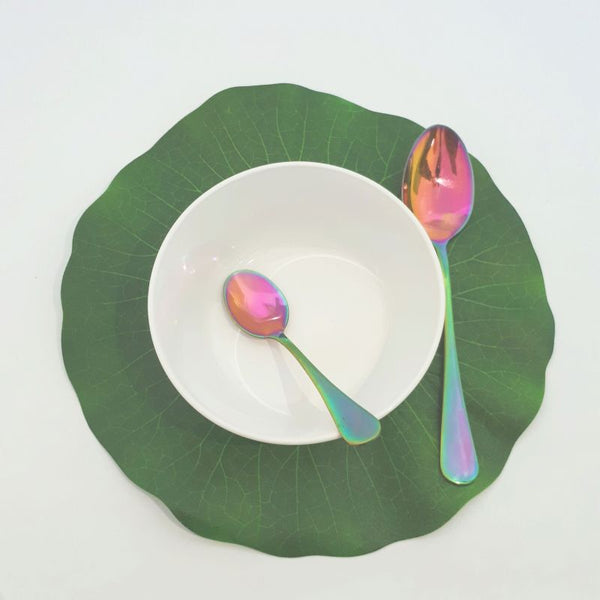 water lily leaf place mat placemat waterlily