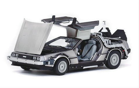 Delorean Coche A Escala 1:18 Para Regalo