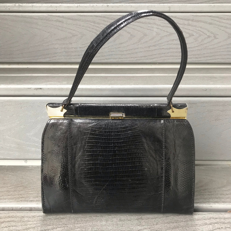 "1970s Vegan Brown ""Leather"" Purse"