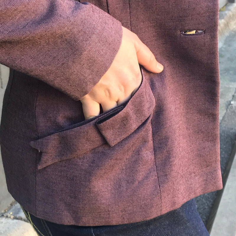1950s Frost Bros Purple Suit Jacket