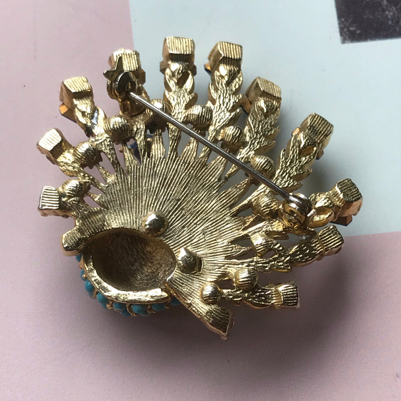 Boucher Peacock Brooch