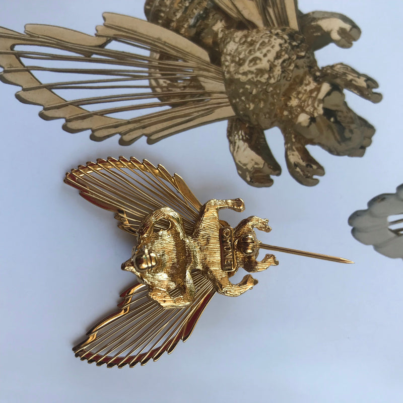 *RESERVED* Collection Piece Monet Bee Brooch