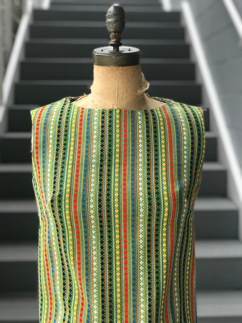 1970s Peruvian Textile Striped Blouse