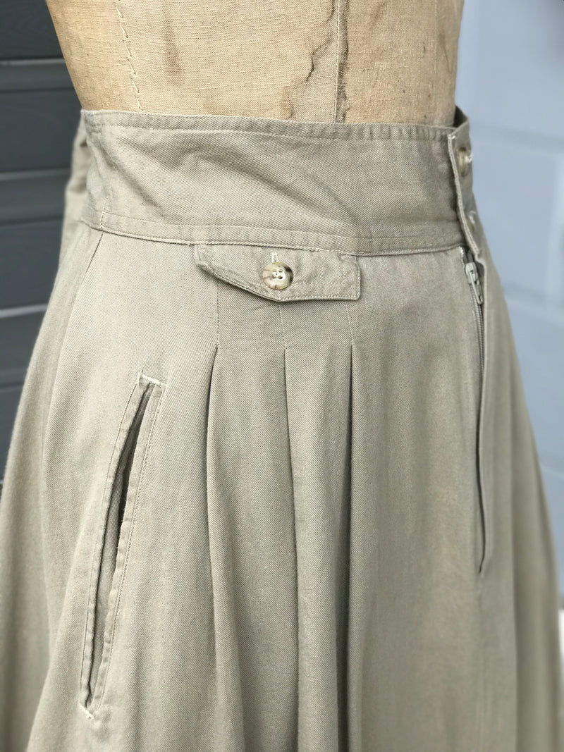 Timeless Banana Republic Safari Maxi Skirt