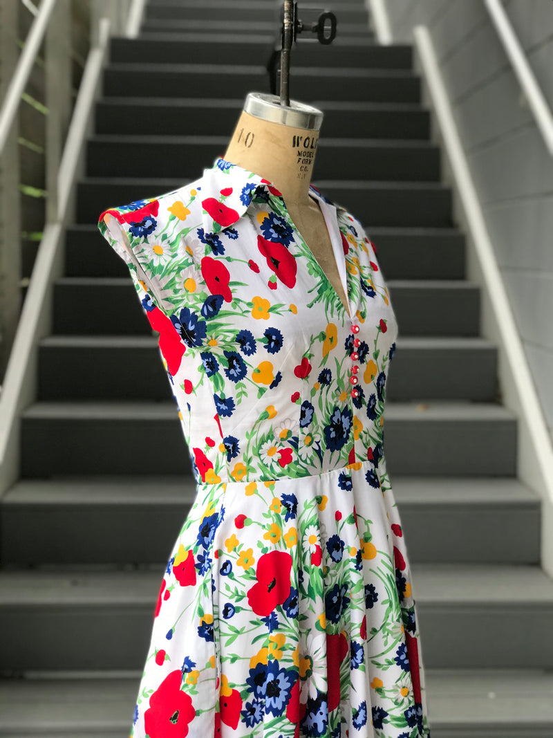 Trashy Diva Wildflowers Circle Day Dress