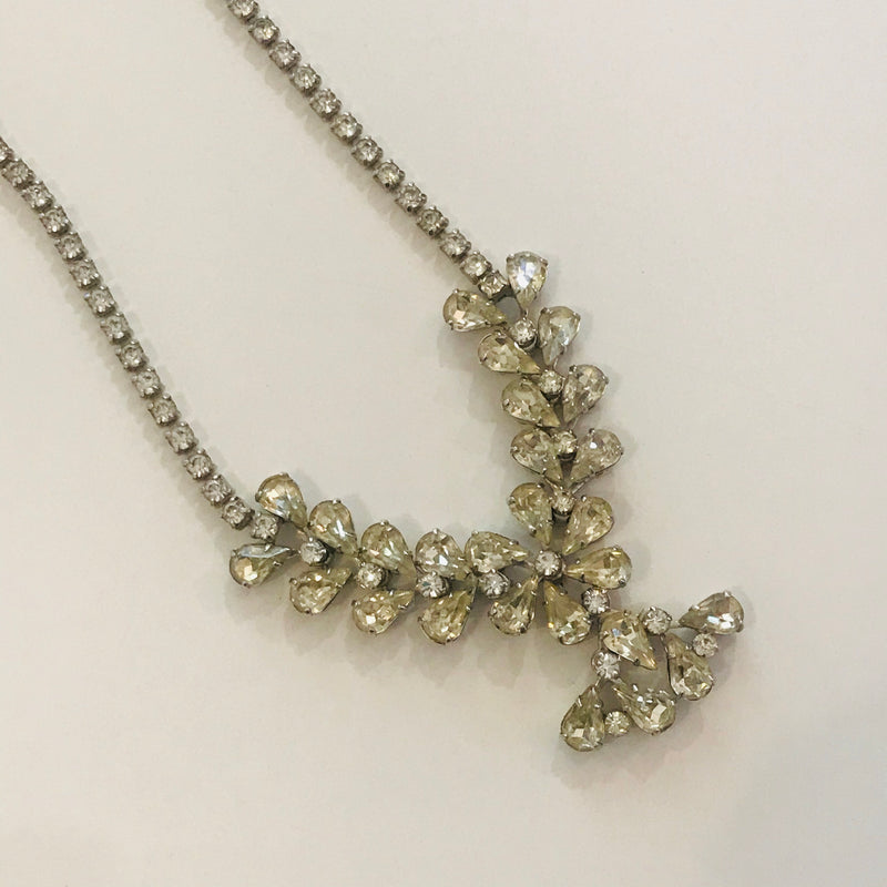 Midcentury Rhinestone Necklace