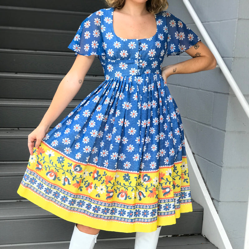 Daisy Skies Day Dress