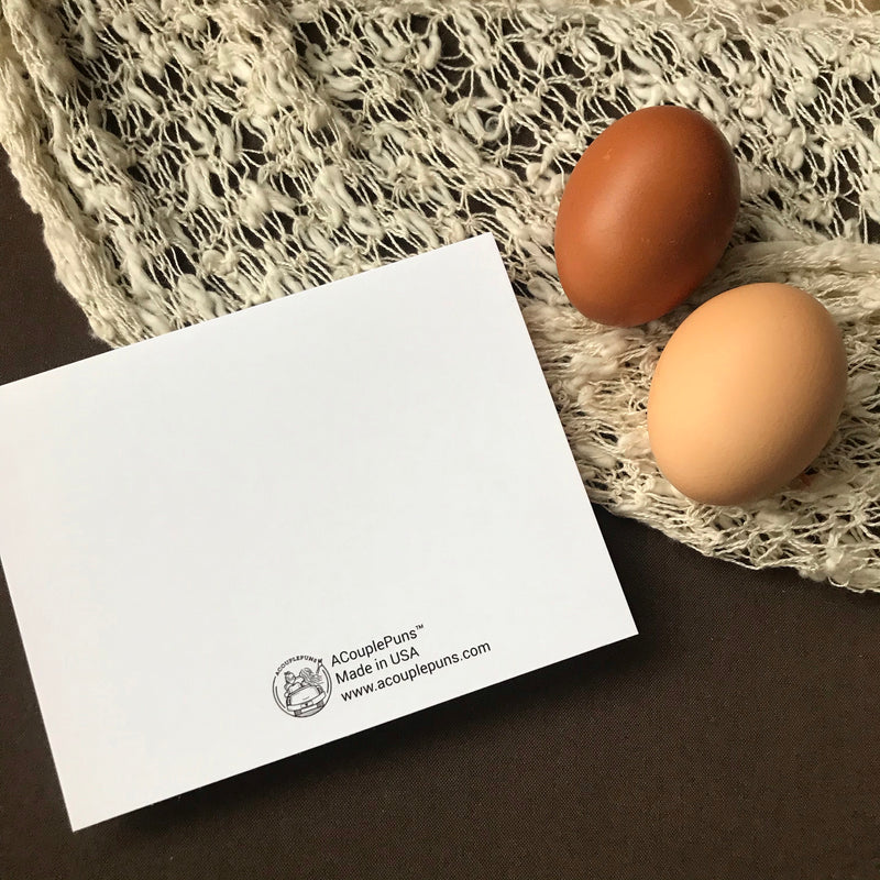 Greeting Card: Egg-cellent Couple
