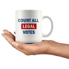 Load image into Gallery viewer, Count All Legal Votes Mug - Trump Mug