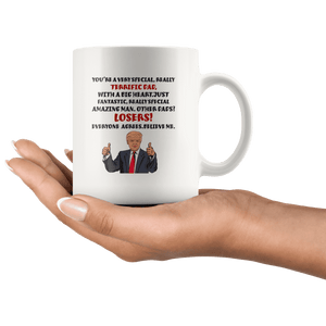 Terrific Dad Father Trump Mug - Trump Mug