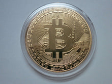 Load image into Gallery viewer, Bitcoin Gold Plated Color Physical Coin Cryptocurrency BTC Collectible Coin - Trump Mug