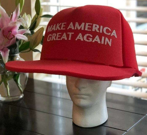 HUGE MAGA Hat Make America Great Again Trump GIANT MAGA Foam Hat - Trump Mug