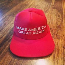 Load image into Gallery viewer, HUGE MAGA Hat Make America Great Again Trump GIANT MAGA Foam Hat - Trump Mug