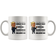 Load image into Gallery viewer, Great Dad Father Trump Mug - Trump Mug