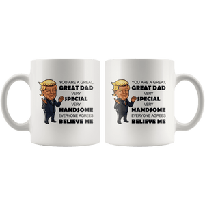 Great Dad Father Trump Mug - Trump Mug