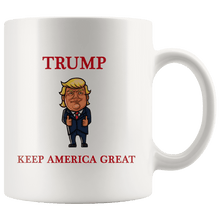 Load image into Gallery viewer, Trump Thumbs Up Keep America Great MAGA Mug - Trump Mug
