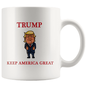 Trump Thumbs Up Keep America Great MAGA Mug - Trump Mug