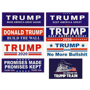 8 Pack Assorted Stickers Donald Trump President Make America Great Again MAGA 2020 Window Decal Bumper Stickers - Trump Mug