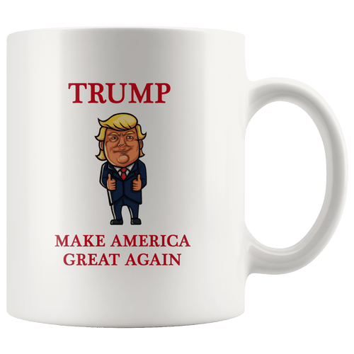 Trump Thumbs Up Make America Great Again MAGA Mug - Trump Mug