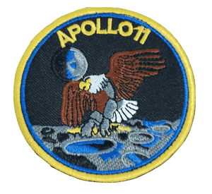 NASA Apollo 11 Space Mission Moon Lunar Landing Embroidered Hook and Loop Patch - Trump Mug
