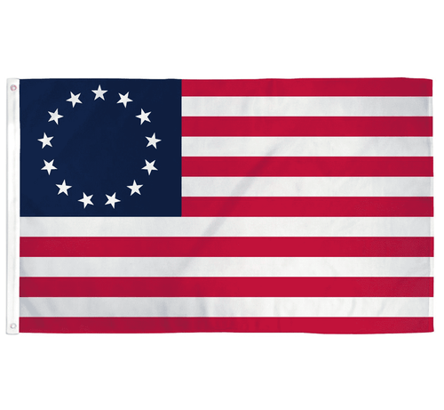 Betsy Ross USA 3x5 Feet Patriotic American Historical Banner Flag - Trump Mug