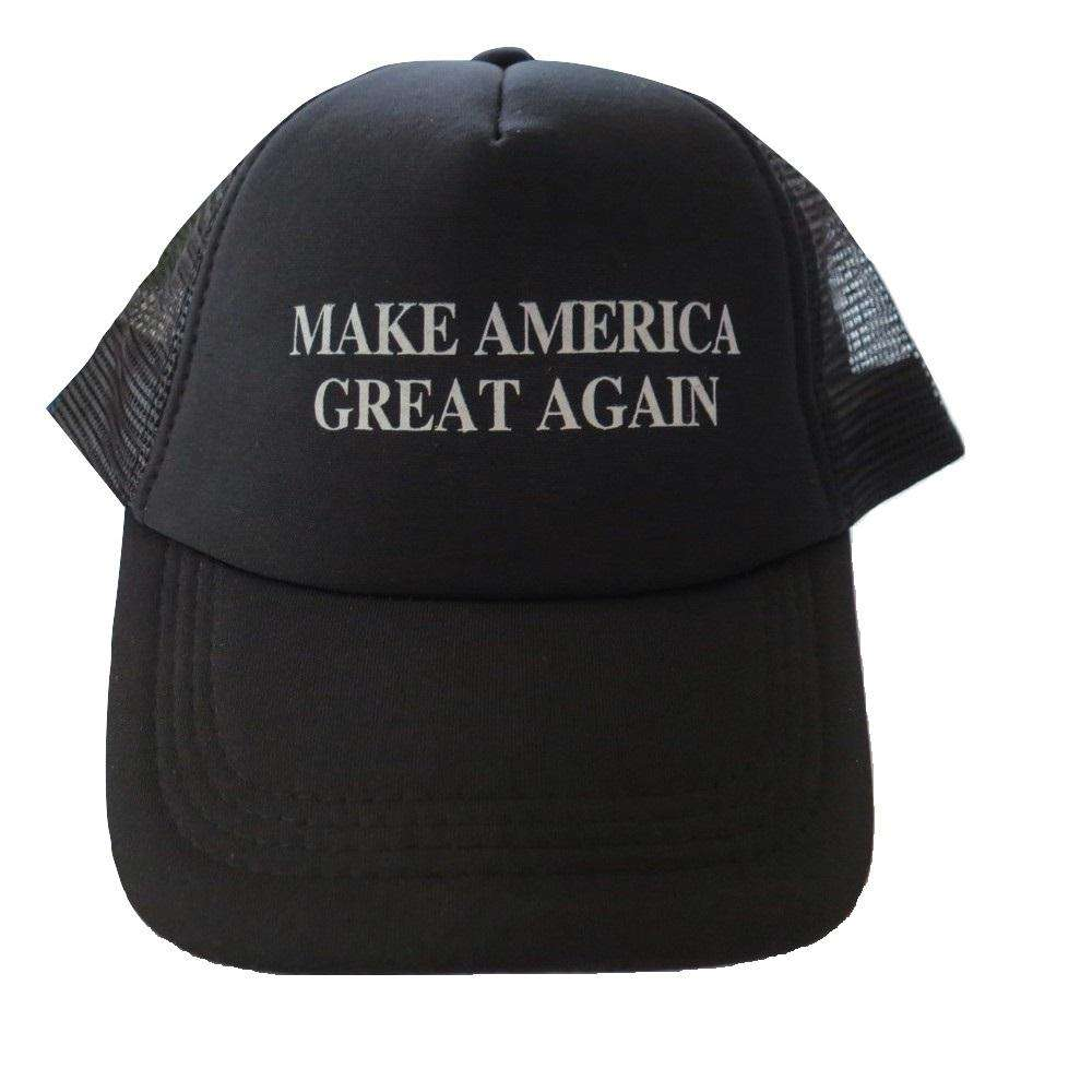 MAGA Make America Great Again Donald Trump USA Flag Baseball Cap Hat BLACK MESH - Trump Mug