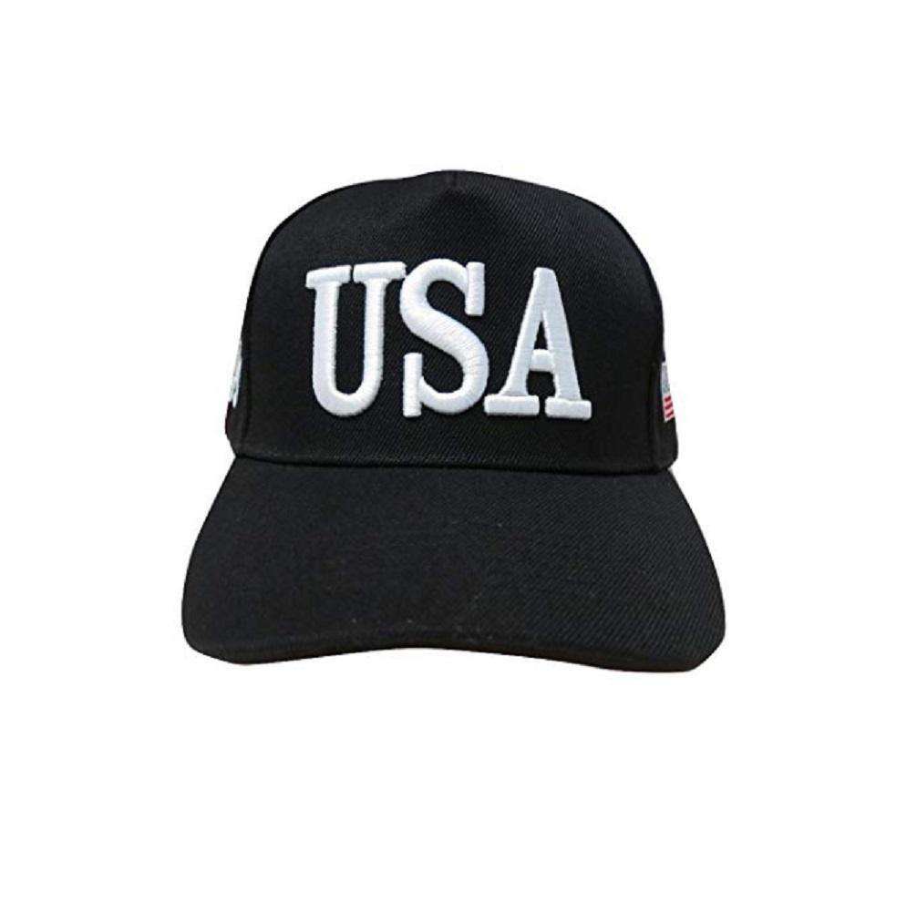 USA 45 MAGA Make America Great Again Donald Trump USA Flag Baseball Cap Hat BLACK - Trump Mug
