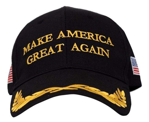 MAGA Make America Great Again Donald Trump USA Flag Baseball Cap Hat BLACK OLIVE - Trump Mug
