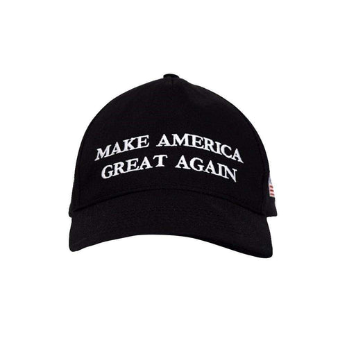 MAGA Make America Great Again Donald Trump USA Flag Baseball Cap Hat BLACK - Trump Mug