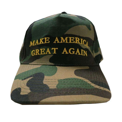MAGA Make America Great Again Donald Trump USA Flag Baseball Cap Hat Military CAMO - Trump Mug