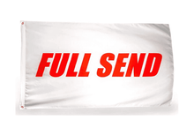 Load image into Gallery viewer, Full Send 3x5 Feet Banner Flag - Trump Mug