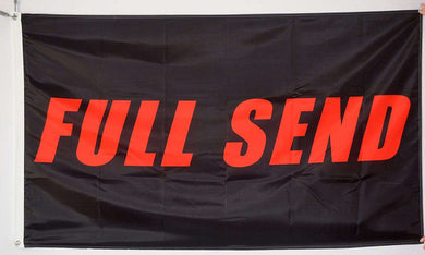 Full Send 3x5 Feet Banner Flag - Trump Mug