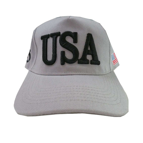 USA 45 MAGA Make America Great Again Donald Trump USA Flag Baseball Cap Hat GRAY - Trump Mug