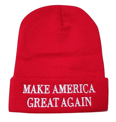 Make America Great Again MAGA Donald Trump Knit Skull Cap Hat Beanie - Trump Mug