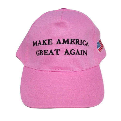MAGA Make America Great Again Donald Trump USA Flag Baseball Cap Hat PINK - Trump Mug