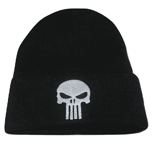 Punisher Skull Tactical Morale Knit Skull Cap Hat Beanie - Trump Mug