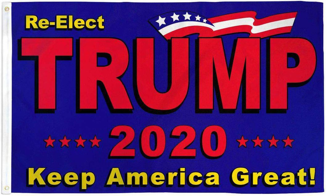 Re-Elect Donald Trump 2020 Keep America Great President 3x5 Feet MAGA Banner Flag - Trump Mug