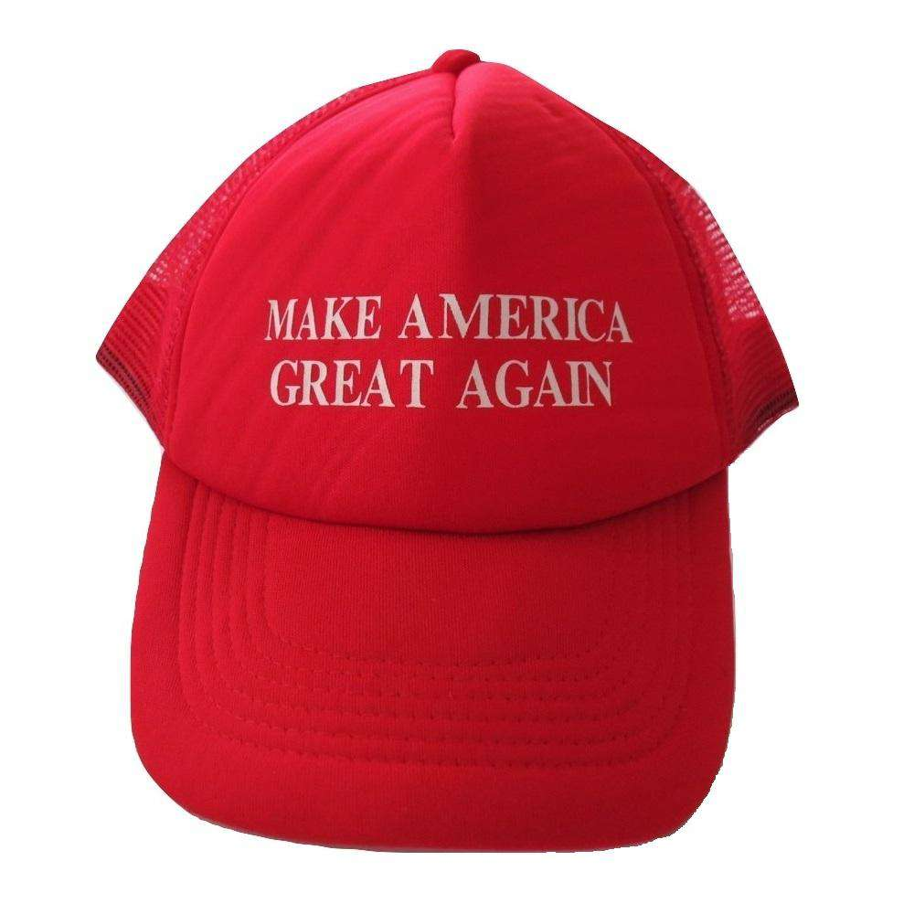 MAGA Make America Great Again Donald Trump USA Flag Baseball Cap Hat RED MESH - Trump Mug