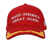 Load image into Gallery viewer, MAGA Make America Great Again Donald Trump USA Flag Baseball Cap Hat RED OLIVE - Trump Mug