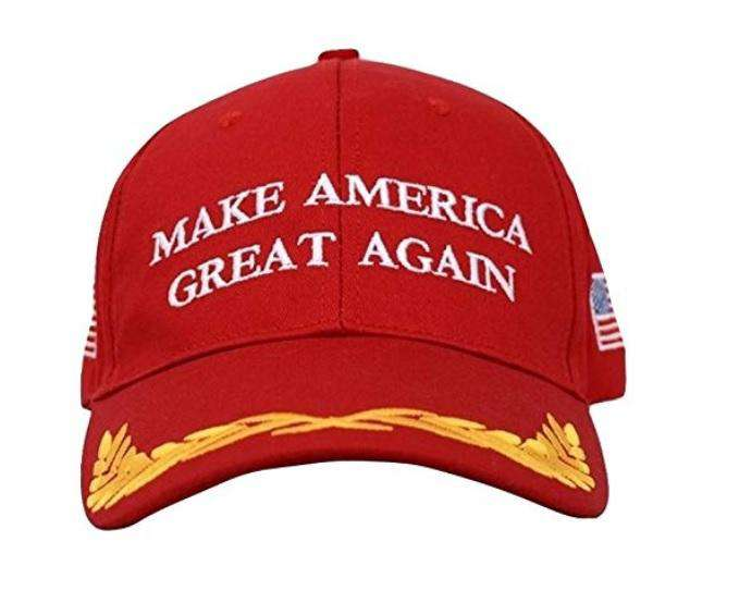 MAGA Make America Great Again Donald Trump USA Flag Baseball Cap Hat RED OLIVE - Trump Mug