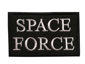 Space Force United States America USA MAGA Hook & Loop Patch - Trump Mug